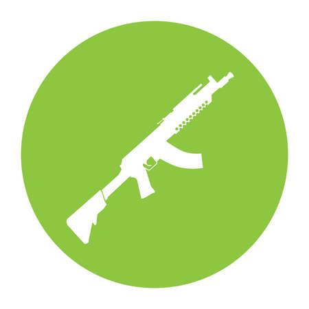 guerilla: Terrorist Icon Small Arms Acid Green Icon