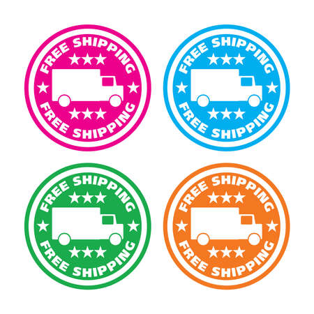 Vector - Free shipping vector stickers collection 4 different
