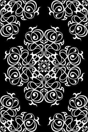 Traditional damask seamless pattern. Damask seamless ornament. Ilustración de vector