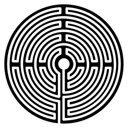 labyrinth spiral life way center fate ur symbol dead end meditative