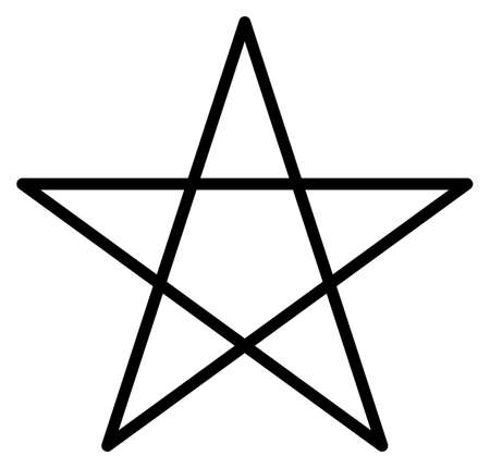pentacle five-star magic wicca white rituals five