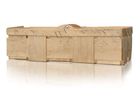 fruit crate box pumpkin cherries wood collect 写真素材