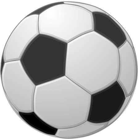 vector illustration of a europe soccer ball Ilustração