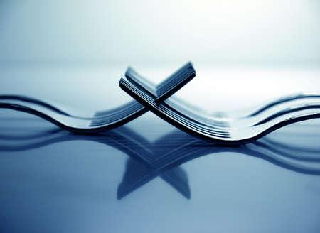 Forks X Blue