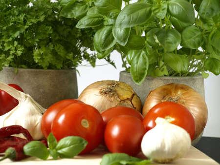 italy food: Italian Food Stock Photo
