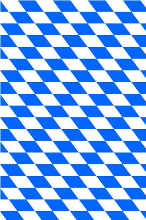 Sfondo con bandiera bavarese