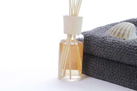 bath additive: Bath additive with towels