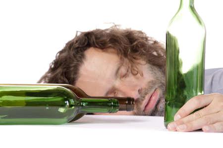 alcoolisme: Ivre Banque d'images