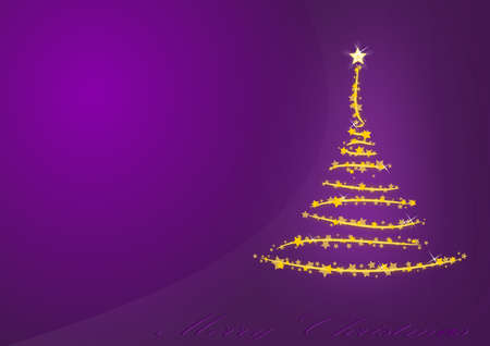 Violet Christmas background photo