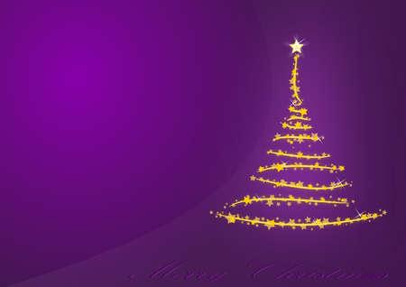 Violet Weihnachten Hintergrund Standard-Bild