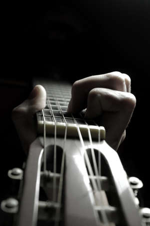 Playing guitar Stock Photo - 10897138