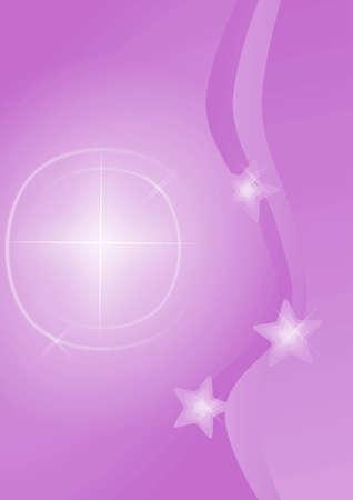 Christmas background with shining stars photo