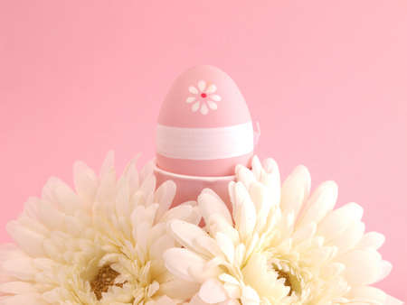 Pink Easter background          Stock Photo