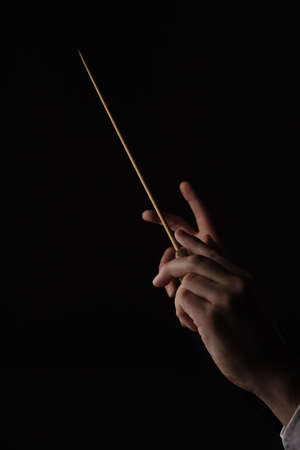 Hands of a conductor