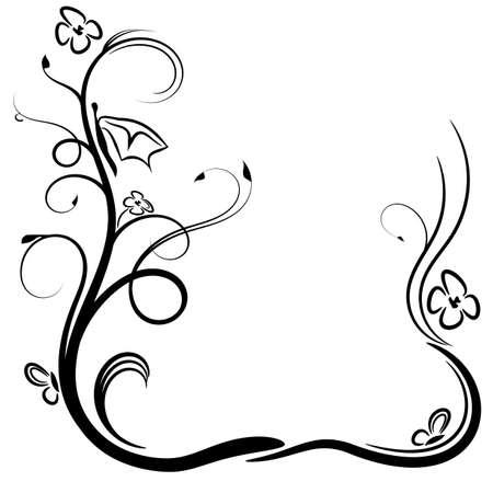 Elements of ornament, vector illustration