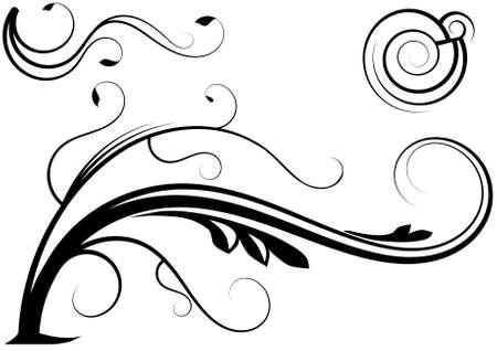 装飾の装飾的な要素  イラスト・ベクター素材