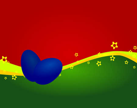 Easter background with space for text Stock Photo - 17048021
