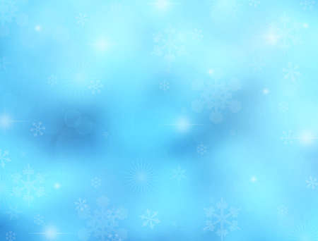 Bright winter background with space for text or image