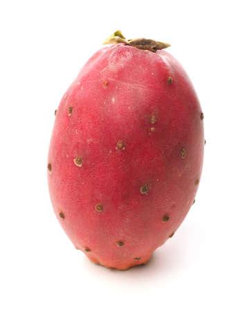 Delicious prickly pear on a white studio background