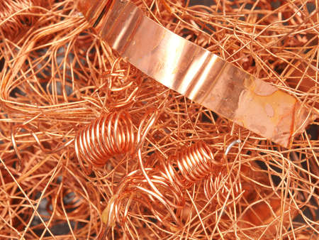 copper background: Texture of a copper background, recovery concept image