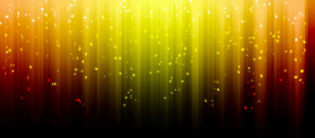 Modern golden rainbow colored background with glittering effects Imagens