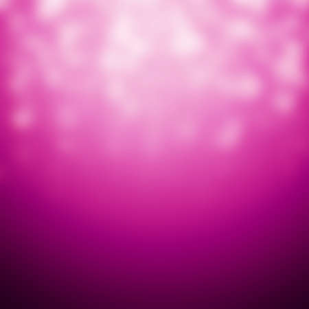 Magical blurred Christmas background in pink with stars, decorative illustration