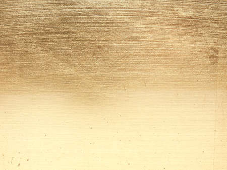 In gold painted wood texture using as luxury or festive background Reklamní fotografie - 130072736
