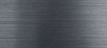 Dark brushed aluminum using as technical panoramic header or backdrop with space for text