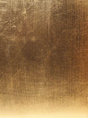 In gold painted wood texture using as luxury or festive background Reklamní fotografie - 130072804