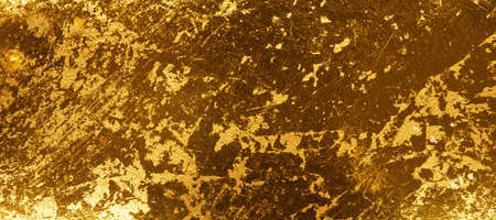 In gold painted wood texture using as luxury or festive background Reklamní fotografie - 130072802