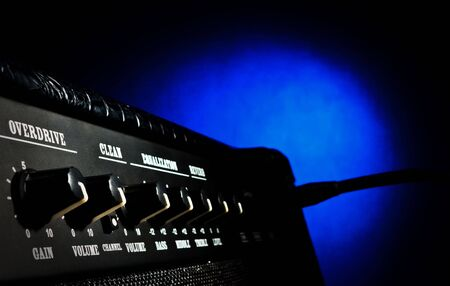 overdrive: combo amplifier with maximum overdrive volume levels