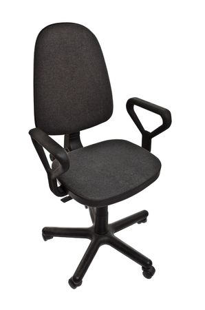office chair isolated on white background Stock Photo - 6745455