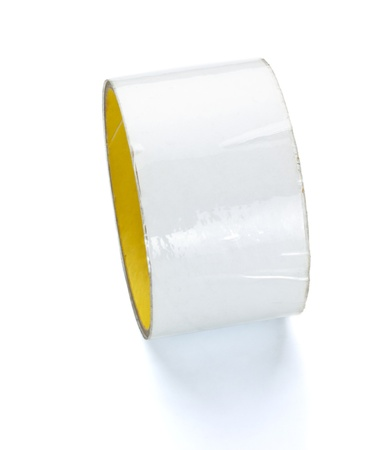 mirror adhesive tape isolated on white background Stock Photo - 9040099