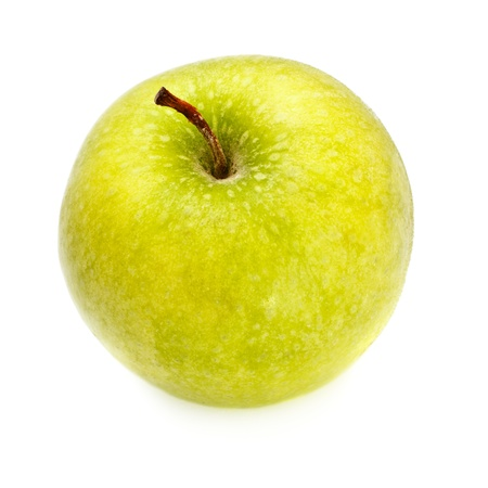 fresh yellow apple isolated on white background Stock Photo - 9783105