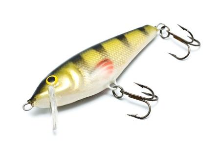 plastic fishing lure isolated on white background Stock Photo - 9783088