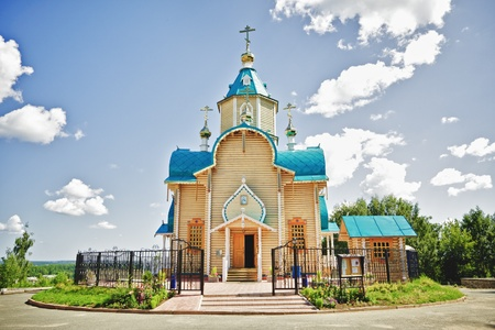 church dedicated to Our Lady of the Theodore, Kirov, Russia photo