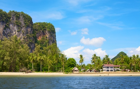 tropical beach, Andaman Sea Shore in Thailand Stock Photo - 12591364
