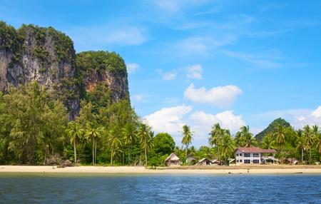 tropical beach, Andaman Sea Shore in Thailand