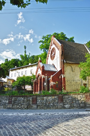 baptist: St. John Baptist church in Lviv, Ukraine Stock Photo