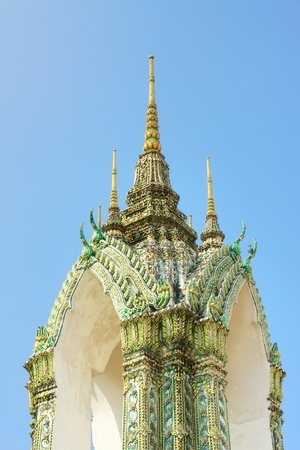 Wat Arun, the Temple of Dawn, Bangkok, Thailand photo