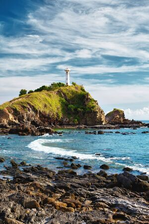 lighthouse on a cliff, Koh Lanta, Krabi, Thailand Stock Photo - 12998251