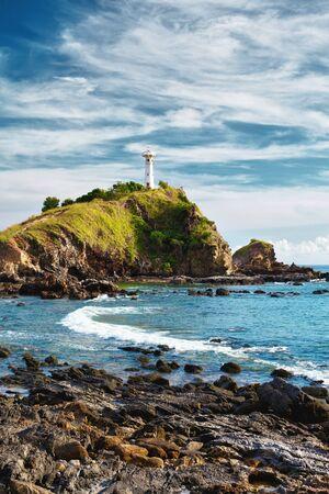 lighthouse on a cliff, Koh Lanta, Krabi, Thailand Stock Photo - 12998251