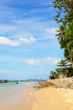 tropical sand beach in Andaman Sea, Thailand Stock Photo - 12998280