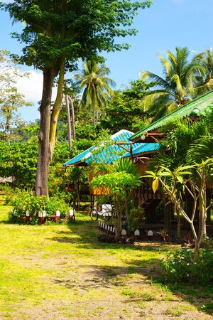 beautiful bungalow resort in jungle, Krabi, Thailand Stock Photo - 13226460