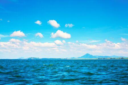 Andaman Sea, Thailand, landscape at sunny day