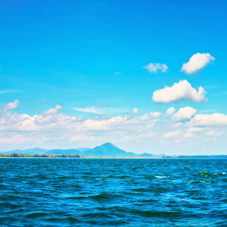 Andaman Sea, Thailand, landscape at sunny day photo