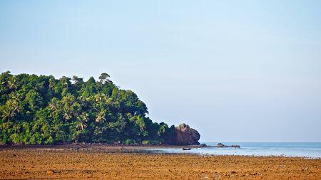 seashore at early morning, Andaman Sea, Thailand photo