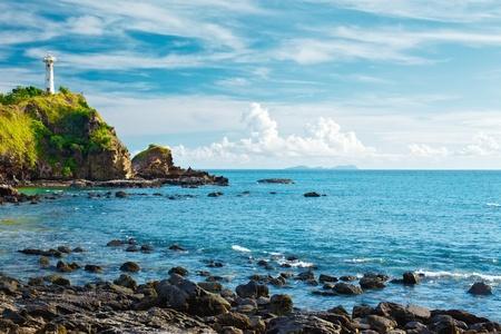 lighthouse on a cliff, Koh Lanta, Krabi, Thailand