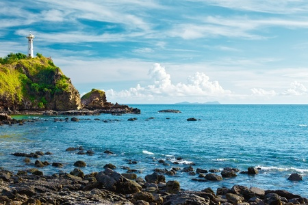 lighthouse on a cliff, Koh Lanta, Krabi, Thailand Stok Fotoğraf - 13194717