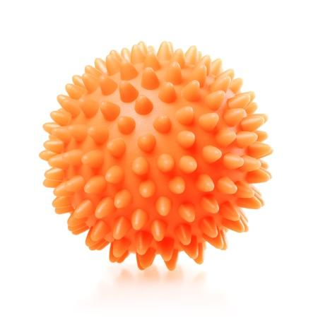 plastic balls for washing machine, isolated on white Stock Photo - 17407928